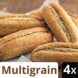 Iceland 4 Multigrain Part Baked Petits Pains