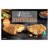 Iceland 4 Nacho Chicken Toppers 400g