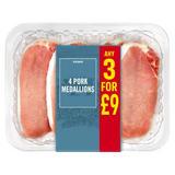 Iceland 4 Pork Medallions 400g