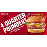 Iceland 4 Quarter Pounders 454g