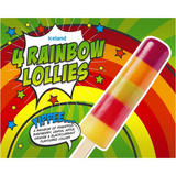 Iceland 4 Rainbow Lollies 260g