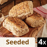 Iceland 4 Seeded Deli Rolls