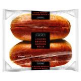Iceland 4 Sliced Brioche Hotdog Rolls