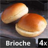 Iceland 4 Sliced Brioche Rolls