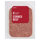 Iceland 4 Slices (approx.) Corned Beef 100g