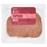 Iceland 4 Slices (approx.) Topside Beef 100g