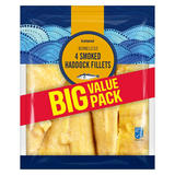 Iceland 4 Smoked Haddock Fillets 520g
