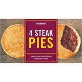 Iceland 4 Steak Pies 568g