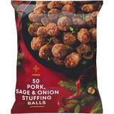 Iceland 50 (approx.) Pork, Sage & Onion Stuffing Balls 1.25kg