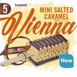 Iceland 5 Mini Salted Caramel Flavour Vienna 175g