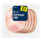 Iceland 5 Slices (Average) Peppered Ham 70g