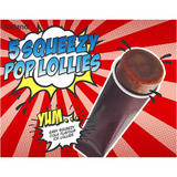 Iceland 5 Squeezy Pop Lollies 350g