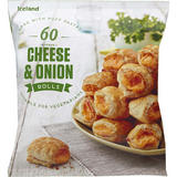 Iceland 60 (approx.) Cheese and Onion Rolls 900g