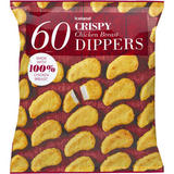 Iceland 60 Crispy Chicken Breast Dippers 1.08 kg