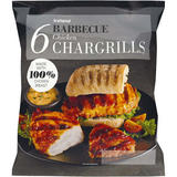 Iceland 6 Barbecue Chicken Chargrills 450g