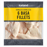 Iceland 6 Basa Fillets 625g