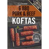 Iceland 6 BBQ Pork and Beef Koftas 300g