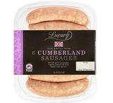 Iceland Luxury 6 Cumberland Sausages 400g