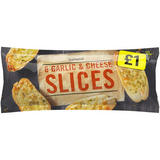 Iceland 6 Garlic & Cheese Slices 200g