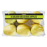 Iceland 6 Golden Delicious Apples