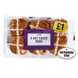 Iceland 6 Hot Cross Buns