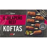 Iceland 6 Jalapeño Beef Koftas 300g
