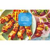 Iceland 6 Katsu Chicken Skewers 430g