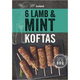 Iceland 6 Lamb and Mint Koftas 300g