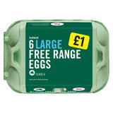 Iceland 6 Large Free Range Eggs