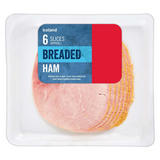 Iceland 6 Slices (approx.) Breaded Ham 100g