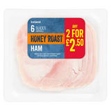 Iceland 6 Slices (approx.) Honey Roast Ham 100g