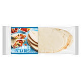 Iceland 6 White PItta Breads 360g