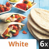 Iceland 6 White Pitta Breads