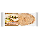 Iceland 6 Wholemeal Pitta Breads 360g