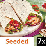 Iceland 7 Seeded Tortilla Wraps 448g