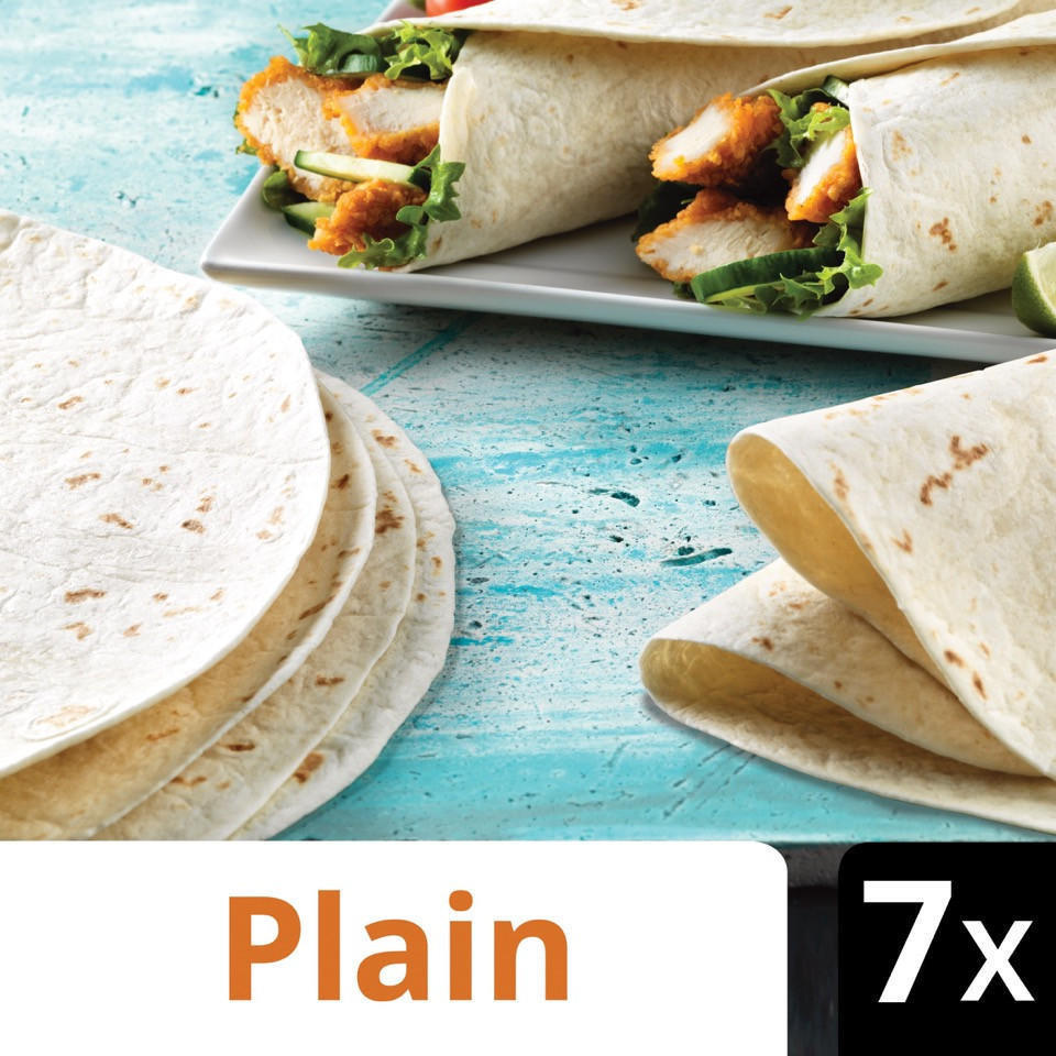 Iceland 7 Tortilla Wraps Wraps Bagels Pittas Thins