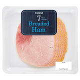 Iceland 7(Average) Breaded Ham Slices 120g