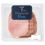 Iceland 7(Average) Peppered Ham Slices 120g