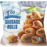 Iceland 80 (approx.) Cocktail Sausage Rolls 1.12kg