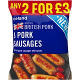 Iceland 8 British Pork Sausages 360g