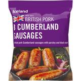 Iceland 8 Cumberland Sausages 360g