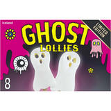 Iceland 8 Ghost Lollies 640ml