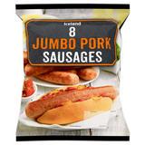 Iceland 8 Jumbo Pork Sausages 800g
