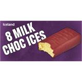Iceland 8 Milk Choc Ices 560ml