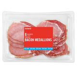Iceland 8 Smoked Bacon Medallions 200g
