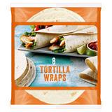Iceland 8 Tortilla Wraps 496g