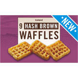 Iceland 9 Hash Brown Waffles 504g