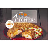 Iceland  4 Nacho Chicken Breast Toppers  400g