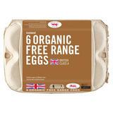 Iceland  6 Organic Free Range Eggs  328g
