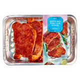 Iceland  Maple BBQ Pork Loin Steaks  300g